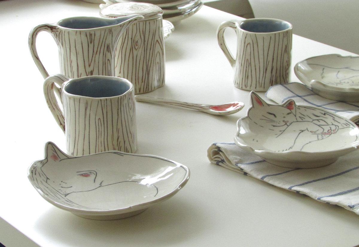 belle illustration avec le thé 05
