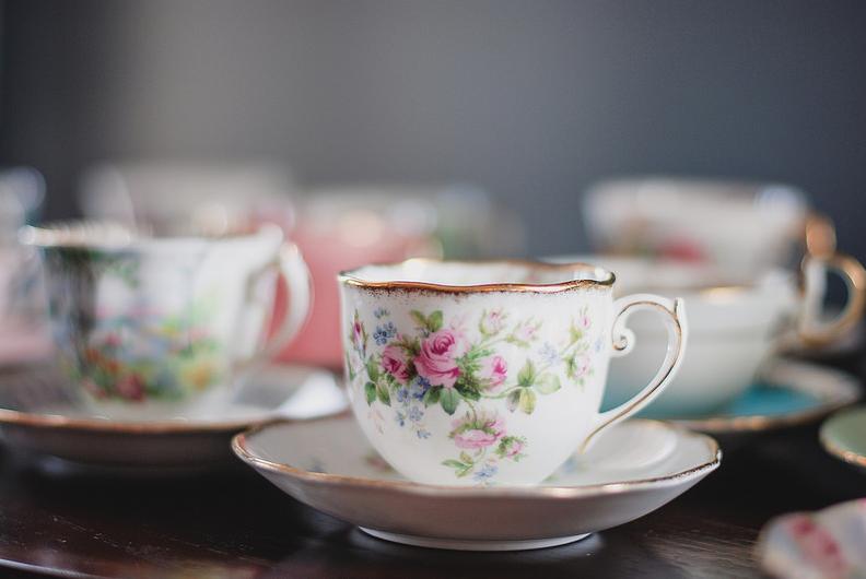 belle illustration avec le thé 34
