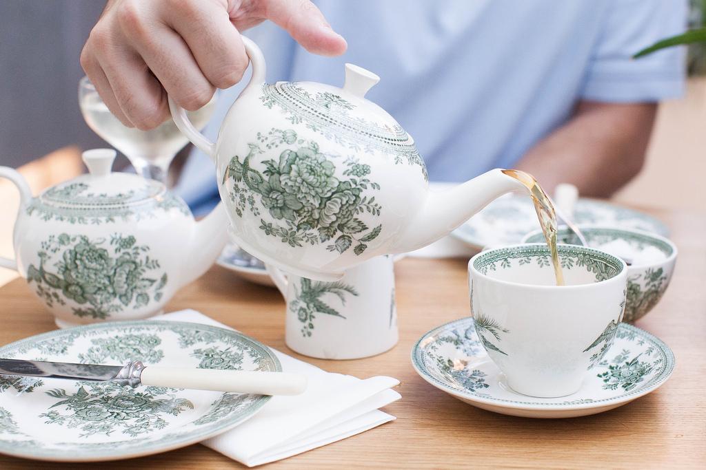 belle illustration avec le thé 38