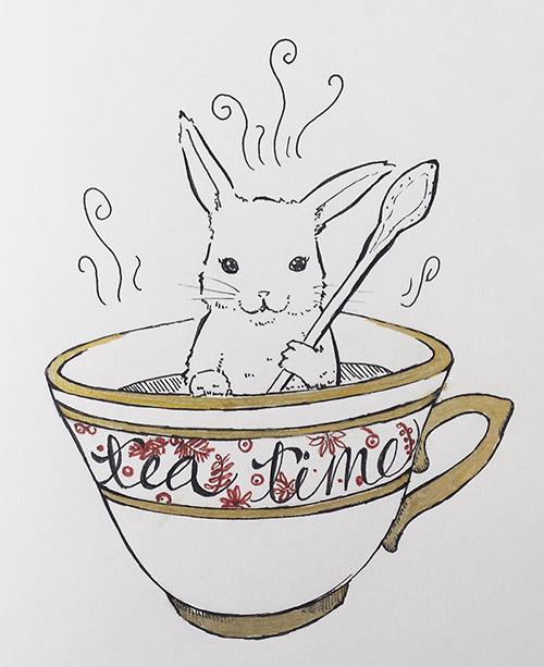 belle image avec du thé 31