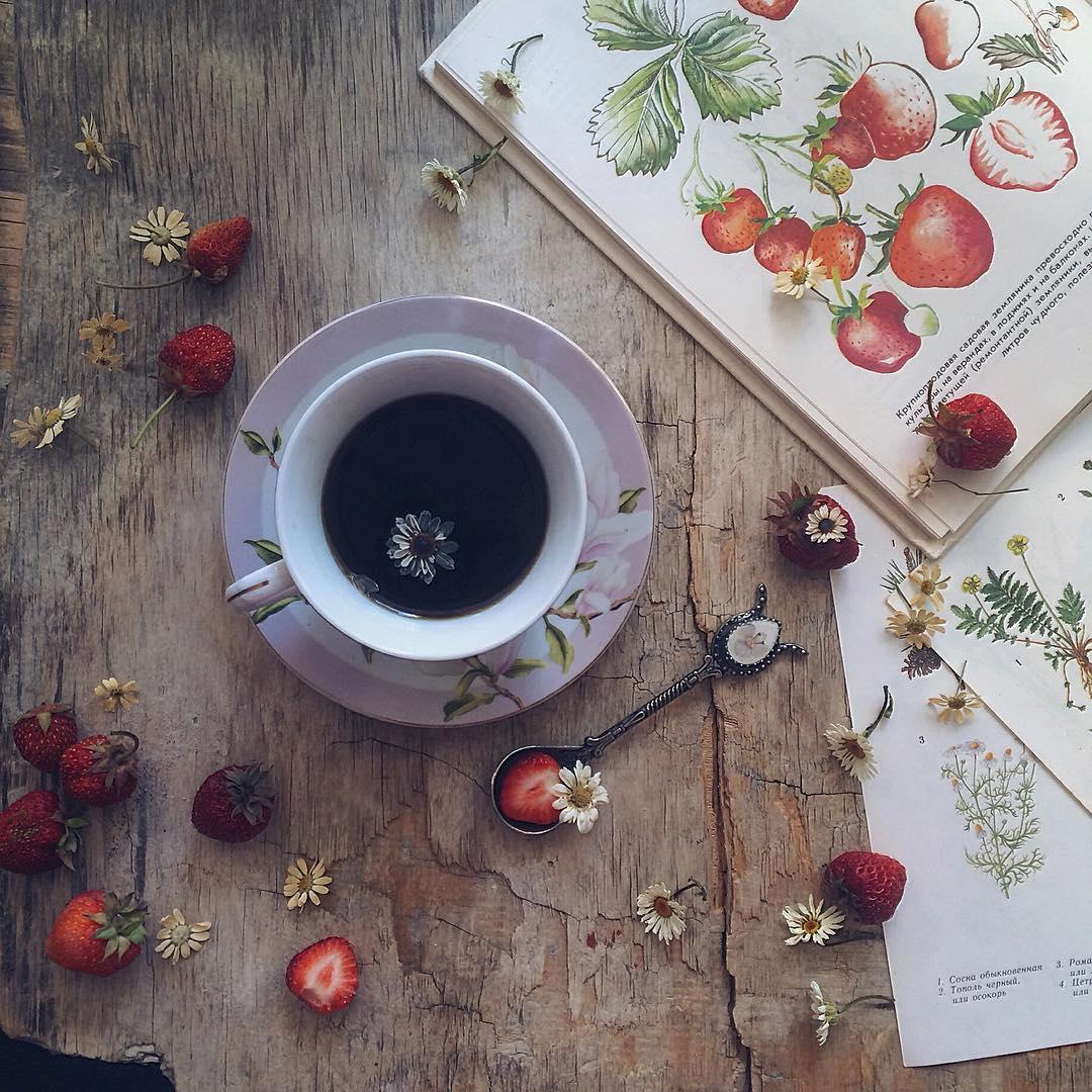 le thé en image à partager 01