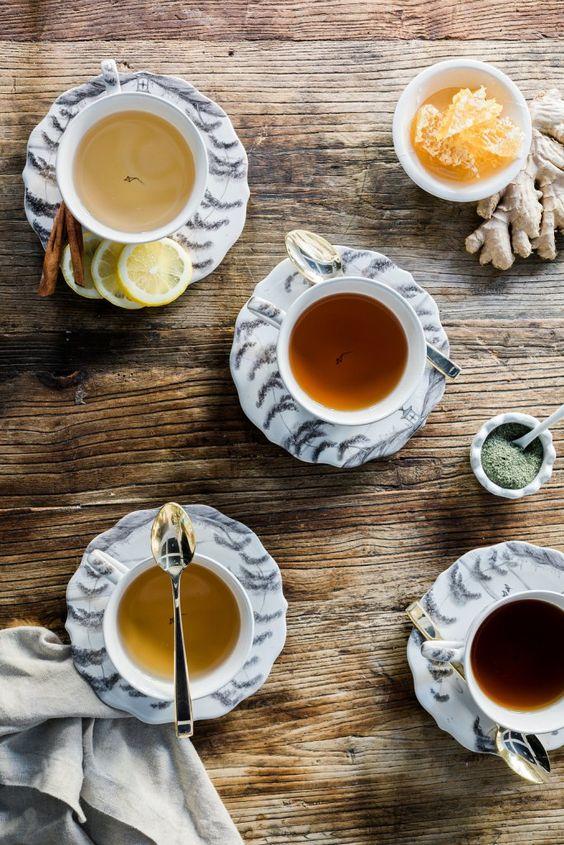 le thé en image à partager 02