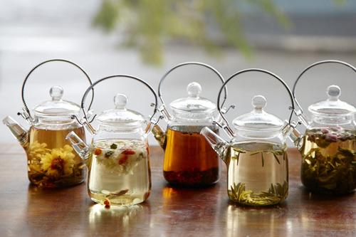 le thé illustré en photo 02