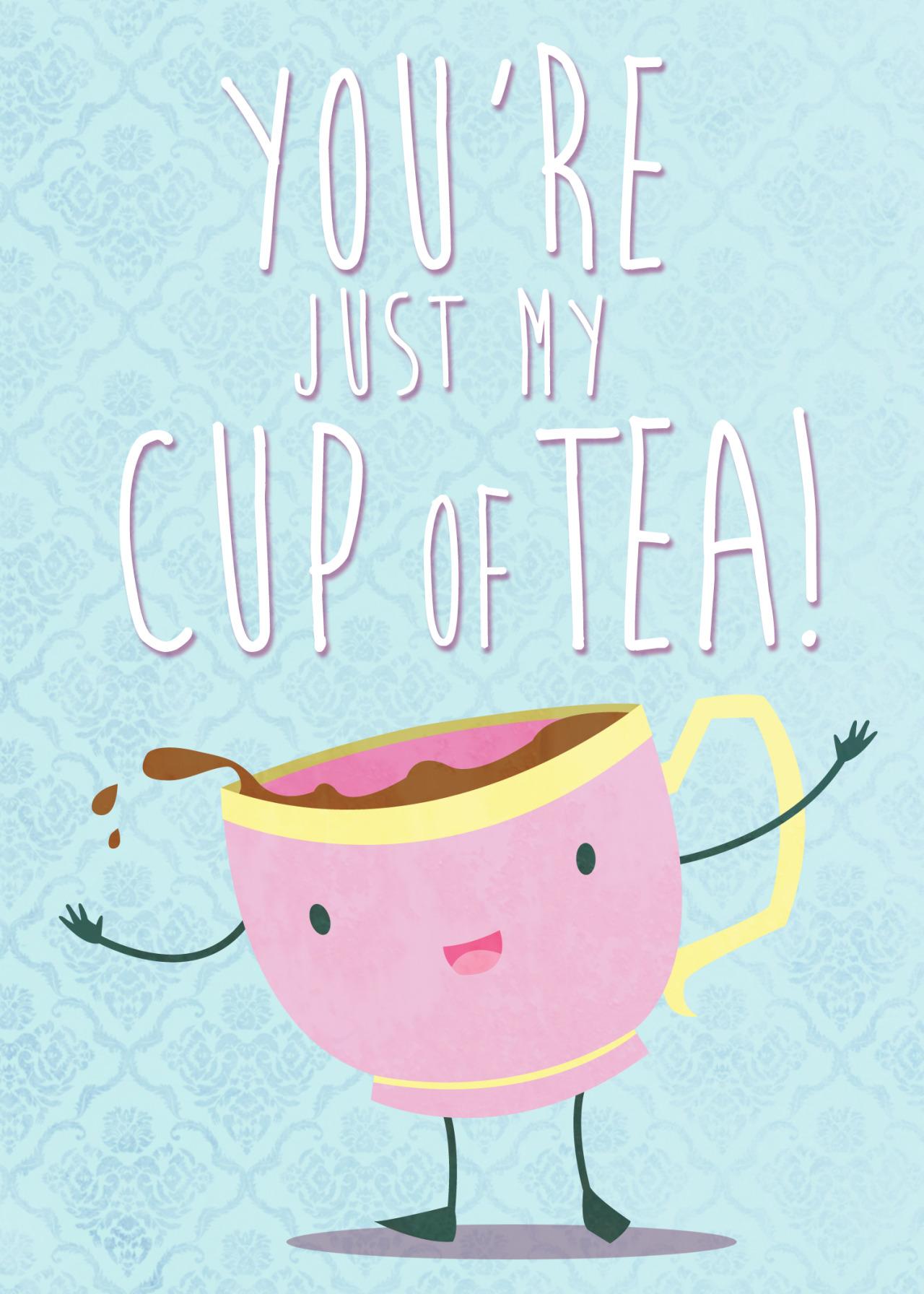 le thé illustré en photo 17