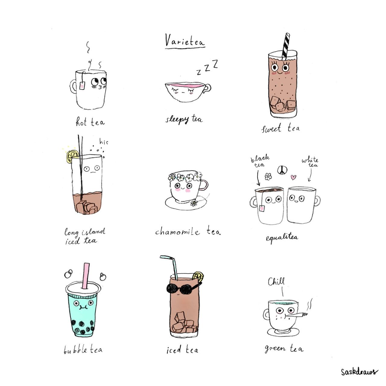une belle image de thé à partager 02
