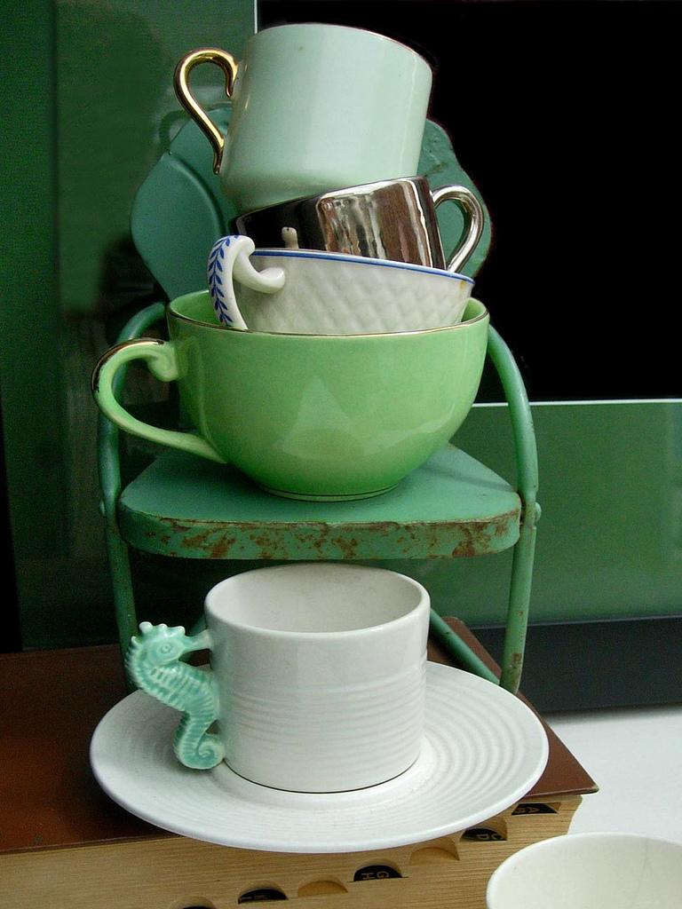 une jolie image de thé illustrée 09