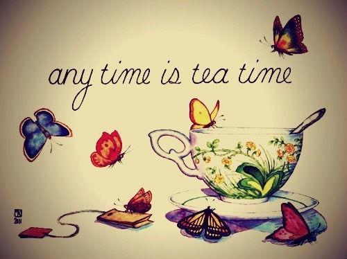 boire un thé en image 49
