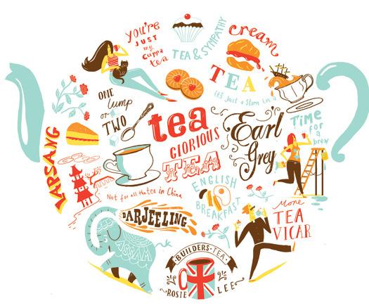 citation et star autours du thé numéro 31