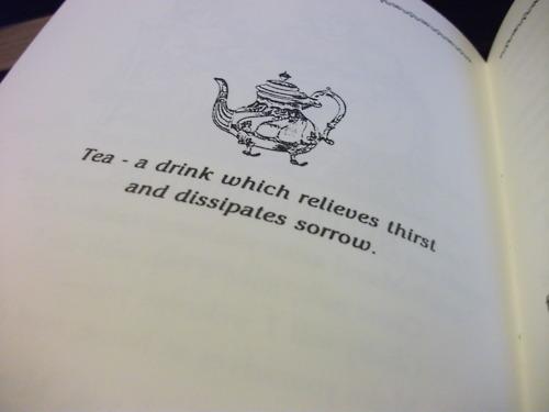 mal au ventre thé