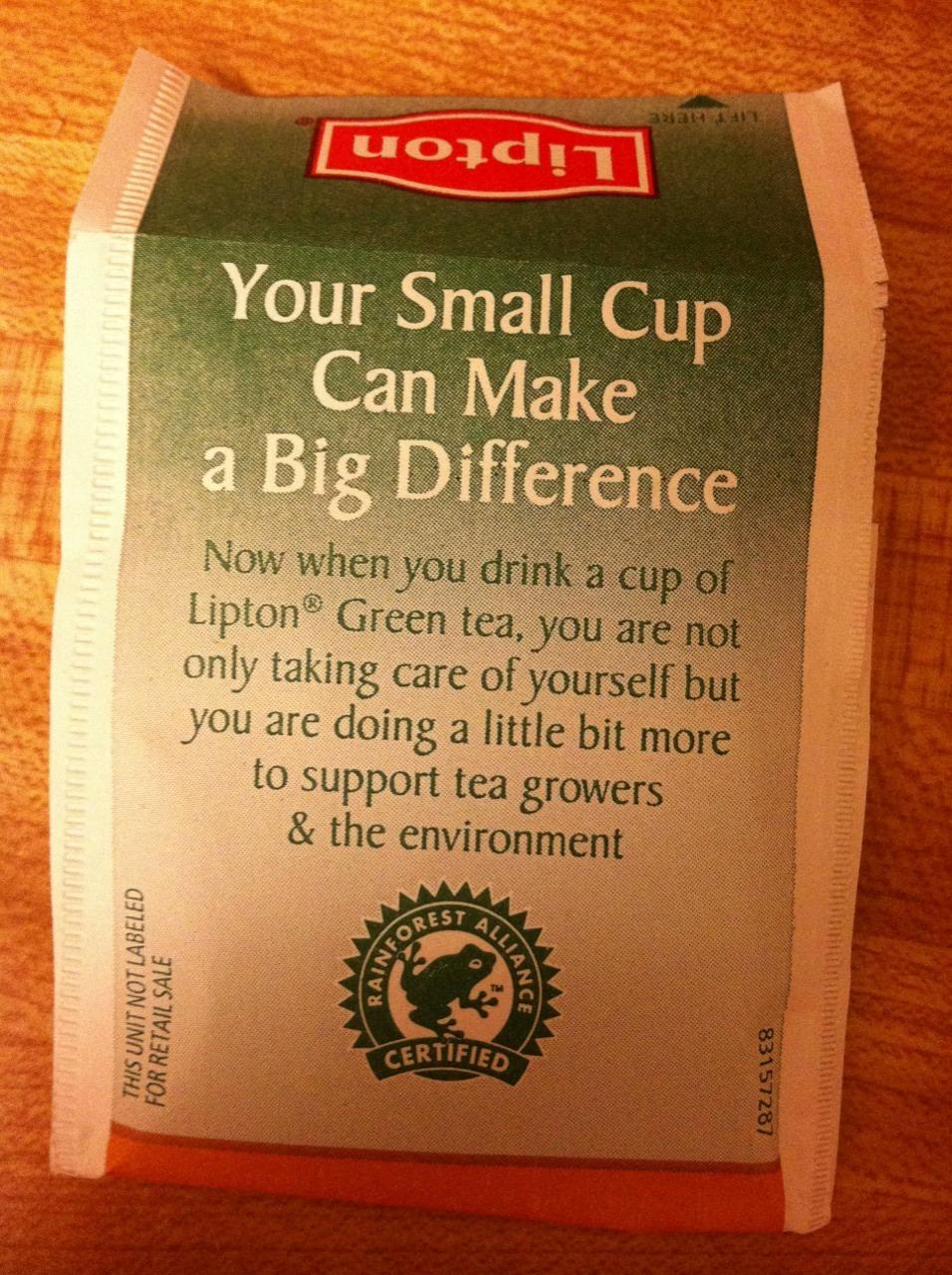 pas besoin d'etre une star pour boire un thé vert 94