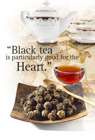 thé blanc le soir