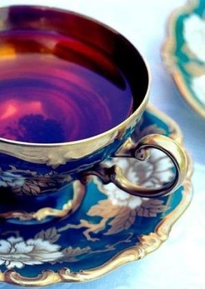 thé eau bouillante