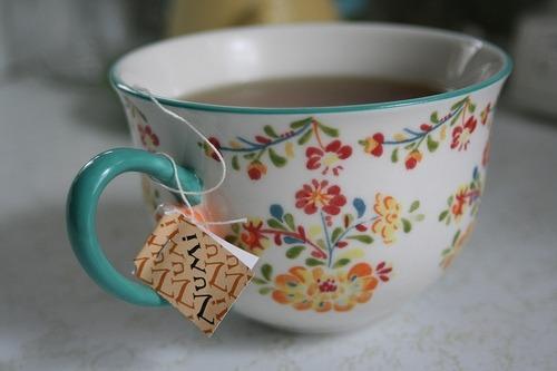 thé vert mal au ventre